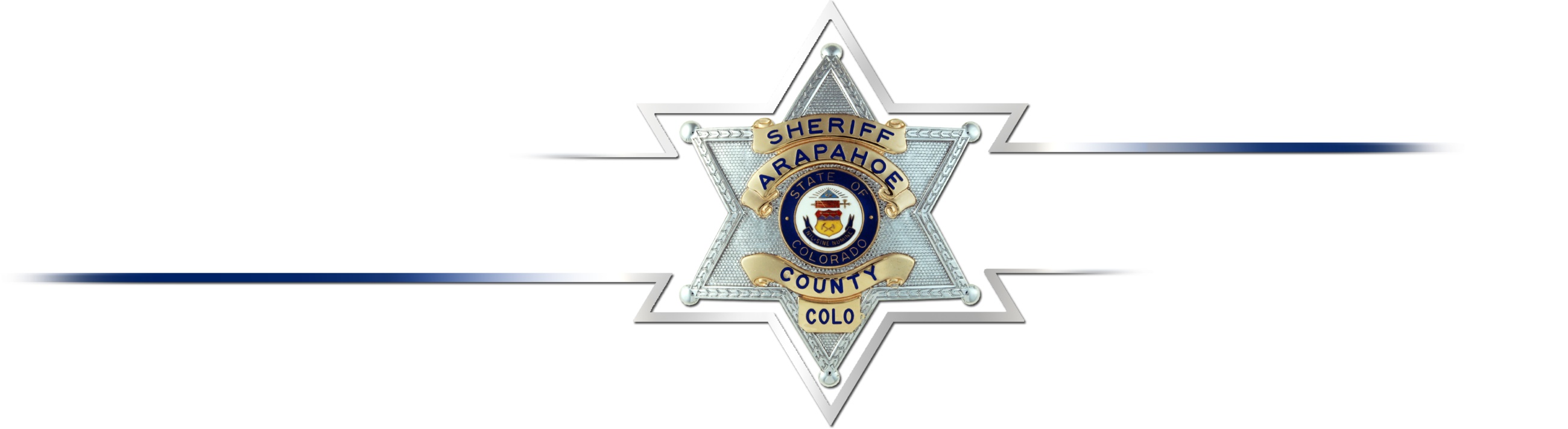Arapahoe Sheriff wording with badge