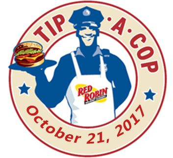 Tip a cop logo with date
