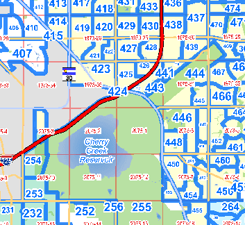 Thumbnail Image of Arapahoe County Precinct Map