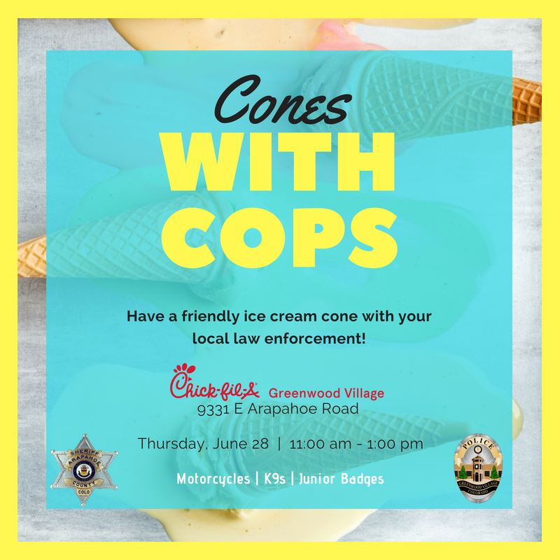 Cones With Cops
