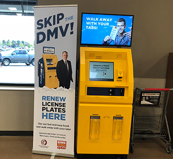Photo of Colorado MV Express Kiosk in Aurora King Soopers store