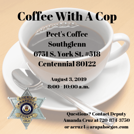 Coffee With A Cop 8.3.19