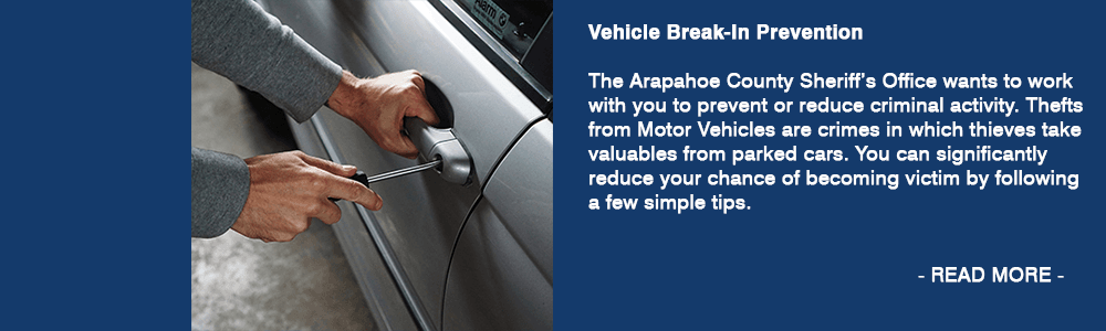 Vehicle-Break-in prevention