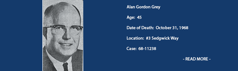 Alan gordon grey cold case