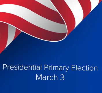 March 3 Presidential Primary