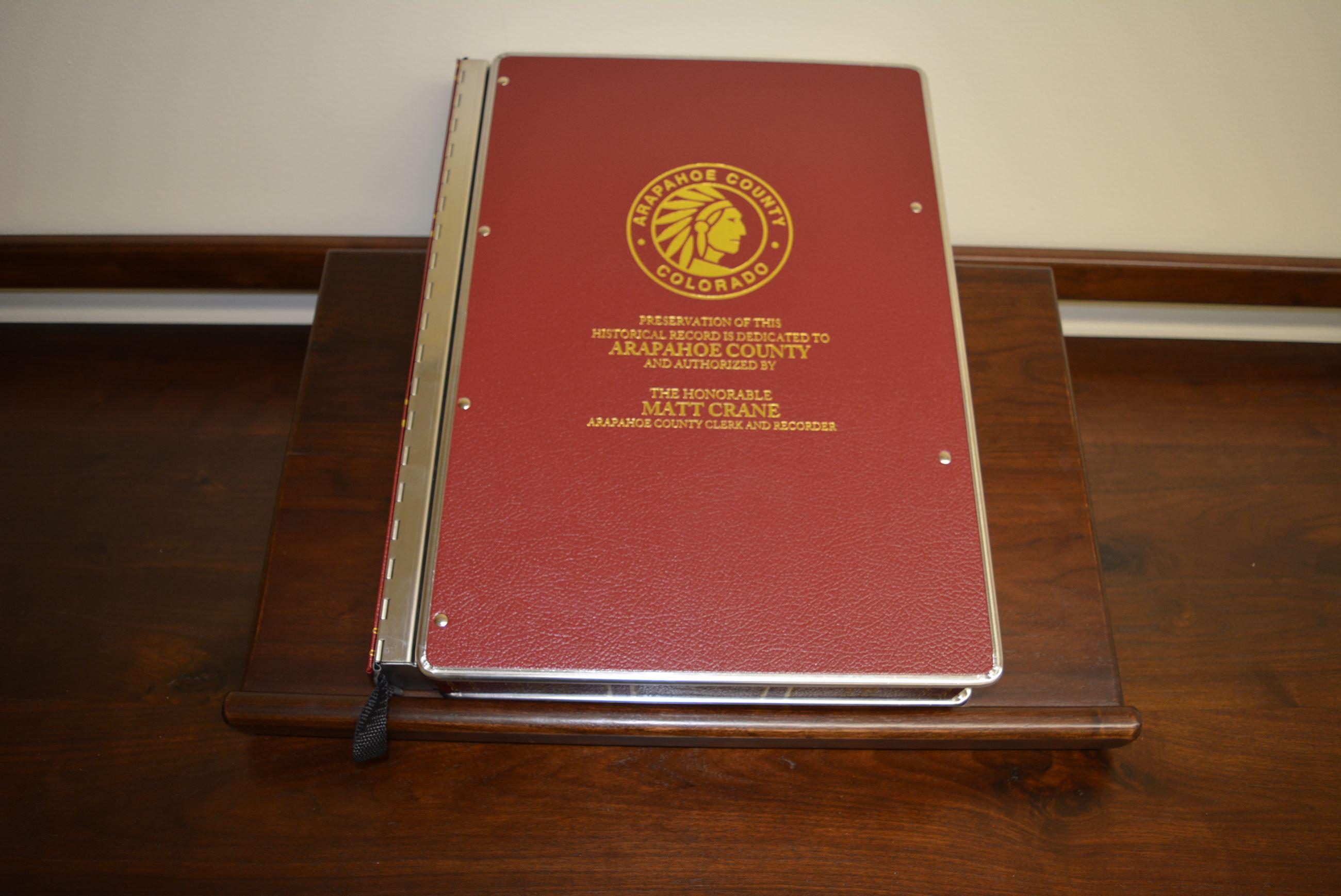 PreservedRecordBookfrom1800s