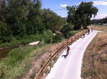 Cherry Creek Regional Trail @ Wabash
