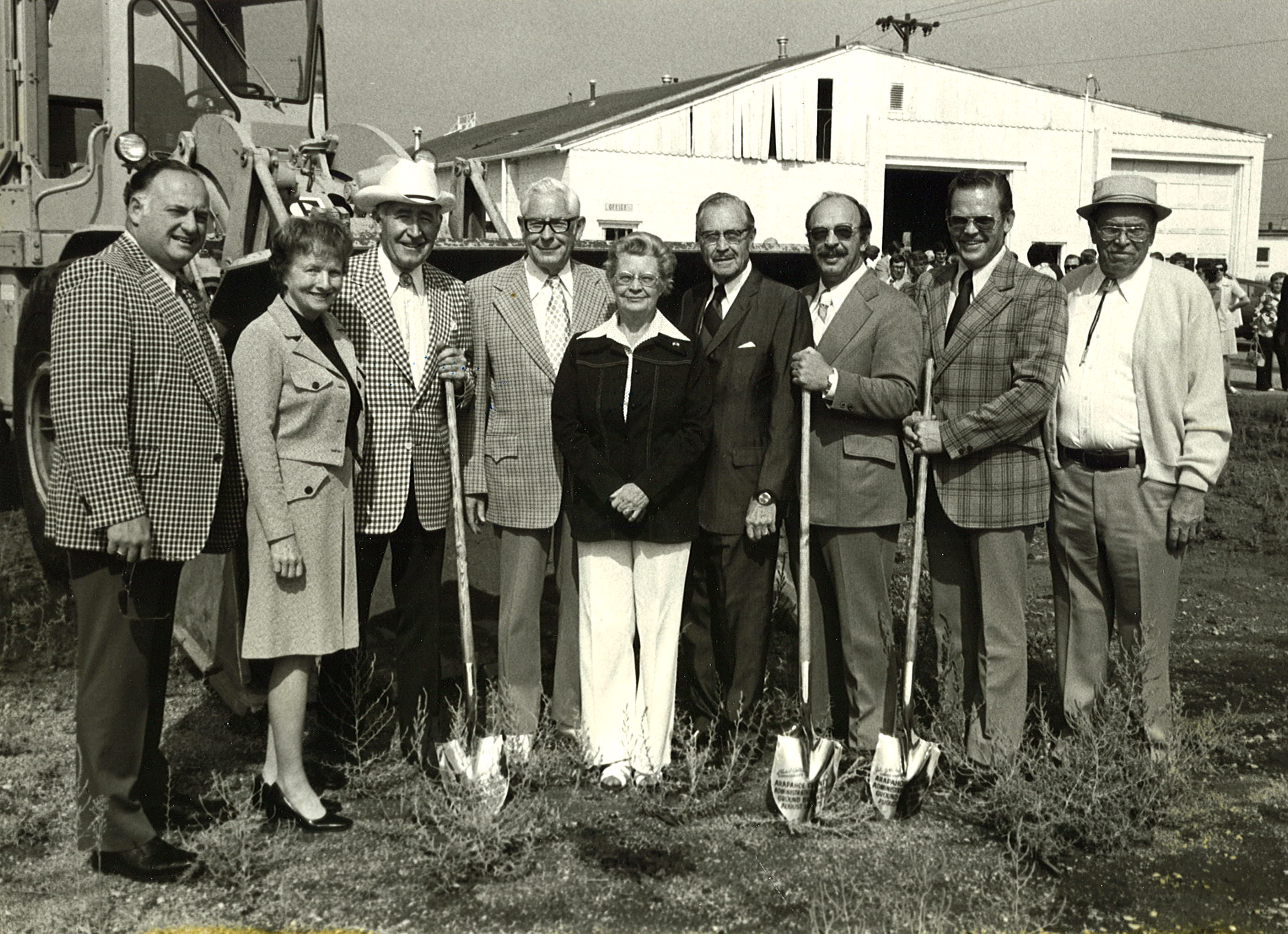 Administration Building Groundbreaking